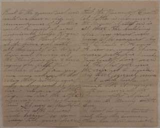 [Original Autograph Letter Signed by Julia Haley, Daughter of Noted Sitka Pioneer and Miner Nicholas Haley, Giving an Eye-Witness Account of Burning of Sitka's Baranof Castle on March 17, 1894].