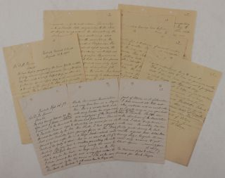 Collection of Two Extensive Autograph Letters Signed by Gold Miner and Surveyor Albert Lascy,...