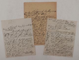 "Collection of Three Original Autograph Letters Signed by W.D. Smith, Owner of the ""Shumagin..."