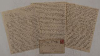Original Autograph Letter Signed with a Detailed Account of the U.S. Government Triangulation and...