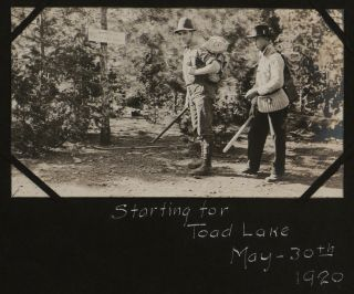 Album of 93 Original Gelatin Silver Photographs of Northern California, with Vivid Camping,...
