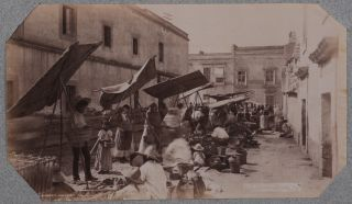 [Album with 45 Original Albumen and Gelatin Silver Studio Photographs of Mexico City, Titled:] Mexico – Summer of 1900. June 9 – Sept. 25th.