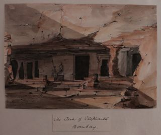 [Album of Ten Original Watercolour Views of India and from the Homeward Voyage back to England].