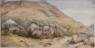 Collection of Three Watercolours of Simonstown, Cape of Good Hope, South Africa]. AFRICA - CAPE TOWN