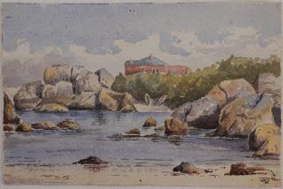 [Collection of Three Watercolours of Simonstown, Cape of Good Hope, South Africa]