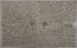 [An Extensive Autograph Letter Signed, from James Hodgson' Merchant at Buenos Aires' to Messrs. Fielden Brothers, Owners of the Cotton-Spinning Firm in Manchester, Regarding the Insurance of the Latest Shipment' with Comments on the Textiles Suitable for Export to South America].