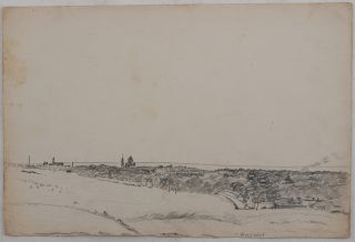 [Collection of Twenty-One Pencil Drawings of Ashgabat and Merv in Soviet Turkmenistan].