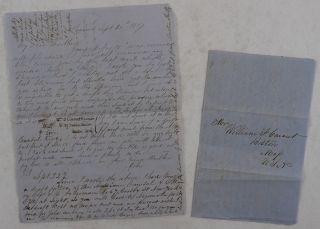 Pair of Autograph Letters Signed by a Young American Merchant in Panama City to His Brother in...