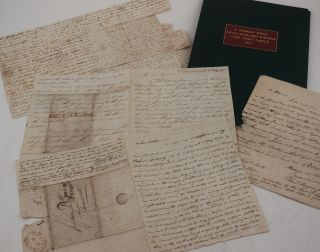 Historically Significant Collection of Four Original Autograph Letters Giving a First-Hand...