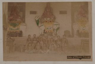 [Japanese Lacquered Album with Fifty Original Hand-Coloured Albumen Photographs of Beijing and Tianjin, Most Likely Compiled as a Keepsake for the Officers and Soldiers from the International Forces of the Eight-Nation Alliance which Took Part in the Suppression of the Boxer Rebellion in 1900].
