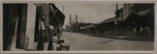 Collection of Twenty-Three Original Gelatin Silver Panoramic Photographs of Mexico, Showing...