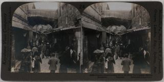 [Collection of Thirty Gelatin Silver Stereo Views of Jerusalem and the Holy Land].