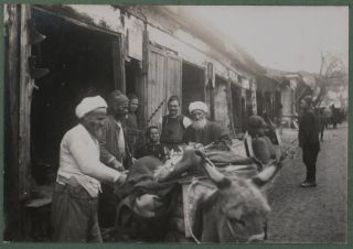 Album with 225 Original Gelatin Silver Photographs Showing Macedonia & Greece, Istanbul & Odessa...