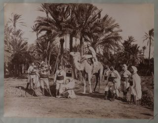 Album with 49 Original Albumen Studio Photos of Algeria, Showing Algiers, Oran, Tlemcen, Mers El...