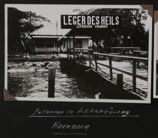 [Collection of Three Photo Albums with ca. 416 Original Gelatin Silver Photos, Taken by an American Employee of the Nederlandsche Koloniale Petroleum Maatschappij (Nederlands Colonial Oil Company) During His Work at the Oil Refinery in Soengei-Gerong (Sungai Gerong, South Sumatra) in 1929-1931].