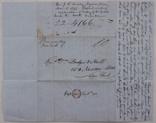 [Autograph Letter Signed to the Secretaries of the American Home Missionary Society, Reporting on his Attempt to Establish a Church in Western Texas, and Talking about his Visits to Indian Point, Victoria, De Witt County, Gonzales, Seguin, and New Braunfels, and high Prices for food in Western Texas, &c.]