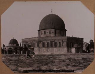 Album with Fifty Large Original Albumen Photographs Showing Religious Sites and Views of...