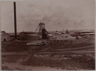 [Collection of Thirty Original Gelatin Silver Photos of Gold Mines and Refining Plants of the Witwatersrand Gold Fields around Johannesburg].