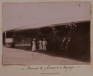 [Collection of 179 Original Gelatin Silver Photos of Madagascar, Taken and Collected by a French Military Doctor Stationed in Majunga/Mahajanga, Showing Majunga Streets and People, Marovoay, Betsiboka River, Antananarivo, the French Military Hospital in Majunga, the Festivities during the Arrival of General Gallieni in Majunga in July 1900, Including Many Well-Executed Portraits of the Native People, etc.].