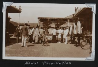 [Album with ca. 660 Original Gelatin Silver Photos (ca. 420 Philippines) Taken by a Sergeant of the US Navy Asiatic Fleet During his Service in the Philippines and China in the mid-1930s]. POLK, J.G. Sgt.