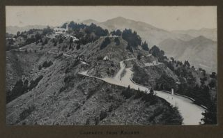 [Album with ca. 248 Original Gelatin Silver Snapshot Photos Taken by a Young Officer of the 1st Garrison Battalion of the Royal Scots Fusiliers while on Service in the Dalhousie, Chakrata and Jhansi Cantonments in India during WW1].