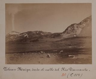[Collection of Thirty-Nine Original Loose Albumen Photos and Cartes-de-Visite, Showing Santiago, Valparaiso, the Strait of Magellan, Mount Aconcagua and Environs, Valdivia, Corral, Osorno, Puerto Montt, Octay, Portraits of the Indigenous People and European Residents].
