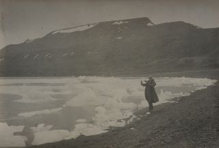 [Collection of Forty-four Large Original Platinum Print Photos Showing Spitsbergen during the Early Years of Industrial Development on the Archipelago].