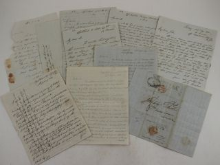 Collection of Three Autograph Letters to Fellow Astronomer, Dr. John Lee (1783-1866), Written...