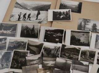 [Album with Ninety Original Gelatin Silver Photographs from Two Soviet Tourist Trips to Lake Teletskoye and Mount Belukha in the Altai Mountains, Organized by the Society of Proletarian Tourism and Excursions].