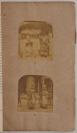 [One of the Earliest Descriptions of the Famous Hemis Festival and Cham (Monastic Dance Ceremony) in the Himalayan Buddhist Hemis Monastery in Ladakh, Illustrated with the First Ever Photographs of the Monks, Musicians and Masked Dancers during the Ceremony in an 1865 Issue of the Journal of the Asiatic Society of Bengal].
