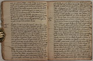 [Anonymous Historically Interesting Manuscript Documenting the Indian Caste System and Observations of Social Norms and Practices in French India, Titled:] Des Castes Indiennes.