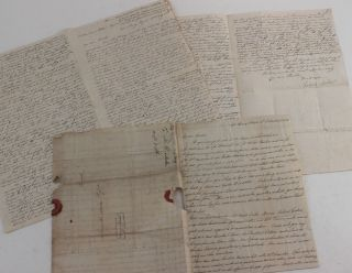 Two Historically Important Autograph Letters Signed by a British Merchant from the Kingdom of...