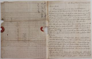 "[Two Historically Important Autograph Letters Signed by a British Merchant from the Kingdom of Haiti to his Brother, Giving a First-Hand Account of the Kingdom and full of Information about the Coffee Trade and the Major British & American Merchants Active There, His Plans in the Nearest Future to Dispatch Ship ""Louisa"" with the Cargo of Coffee to London (will be captured and burned in August 1813 by a Charleston Privateer ""Saucy Jack""), Description of the Audience with King Henry Christophe, Royal Palace Sans Souci (Destroyed in the 1842 Earthquake), Haitian European Community, Hostile Attitude of the Local People to the Foreigners, the King's Policy of Perusal of all Private Correspondence and Confiscation of all Newspapers, etc.]"