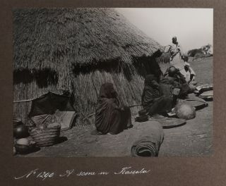 [Album of Thirty-One Original Gelatin Silver Photographs Showing Important Places and Indigenous People in Sudan with an Emphasis on Locations Along Sudan Government Railways].