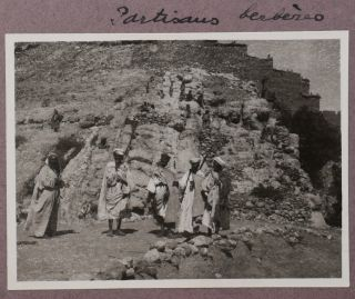 [Album of over 300 Original Gelatin Silver Photographs Documenting the Zaïan and Rif Wars In Morocco].