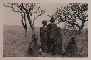 [Extensive Private Archive with over 140 Original Gelatin Silver Photographs taken during Hildur Luck's Travels to Kenya and Uganda, Showing Her Brother Cardale Luck's Gwonongween Estate in Kenya, His Family and House Servants, Missionary Stations, Schools and Churches in Mbarara (Uganda), Lake Victoria, River Nile's Ripon Falls, Mombasa, and Others, Many Vivid Portraits of Native People; With 31 Letters Written to Hildur Mostly by Cardale and his wife Cicely from Kenya; Additionally with about Sixty Items of Ephemera collected during Hildur's Voyage to Kenya and Uganda in 1940s].