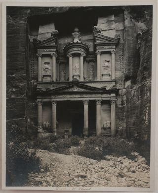 Historically Important Collection of Thirteen Large Platinum Print Photographs of some of the...