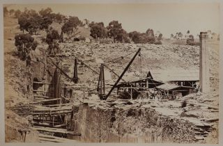 Album of Thirty-six Early Albumen Photographs of Various Cities and Towns in the Australian State...