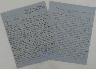 Autograph Letter Signed by David Jones Edwardes, a British Diplomat in the Kingdom of Siam,...