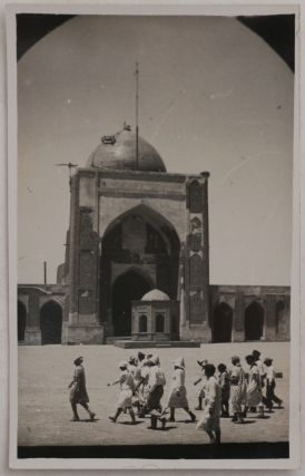 [Collection of Fourteen Real Photo Postcards and One Gelatin Silver Photo of the Old Town of Bukhara in the Early Soviet Era].
