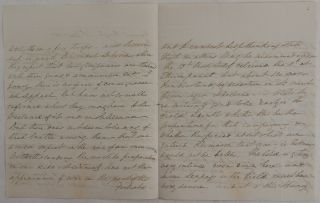 [Autograph Letter Signed to a Superior (Most likely Governor-General of Bengal, Francis, Earl of Moira (later 1st Marquis of Hastings) Reporting the Latest Intelligence Including Troop Strengths and Movements of the Gurkhas (Nepali Troops) in the Anglo-Nepalese War (1814-16)].