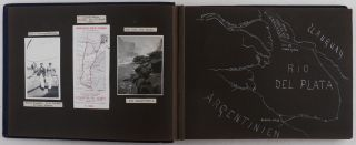 [Album of 174 Original Gelatin Silver Photographs of the Voyage of German Naval Officer Fritz Standke to the Iguazu Falls and Asuncion on a Streamer via the Rio de la Plata, Uruguay, Parana, Paraguay Rivers with Stops in Uruguay, Argentina and Paraguay].