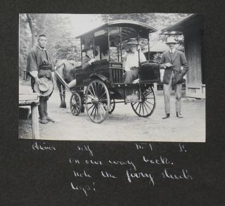 Album of 125 Original Gelatin-Silver Photographs of Central Japan Including Nikko, Mount Nasu,...
