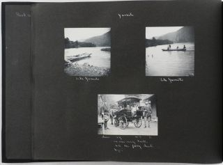 [Album of 125 Original Gelatin-Silver Photographs of Central Japan Including Nikko, Mount Nasu, Mount Asama, Kyoto, Kamakura etc., Showing Architecture, Landscapes, Temples and Local People etc.[With] Six Original Japanese Prints and two Original Watercolours].